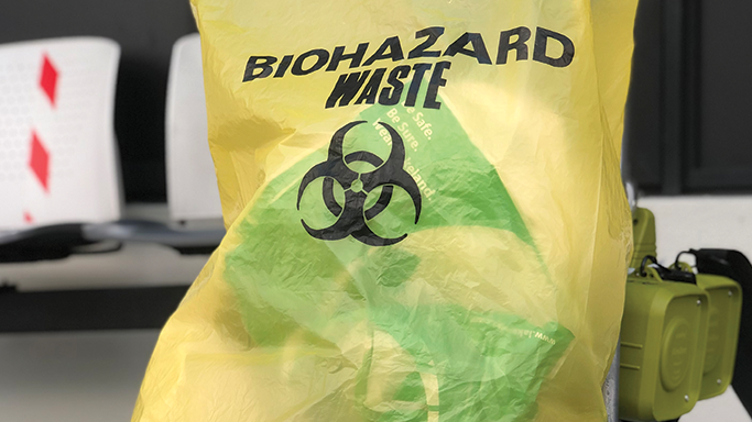 Proper disposal of hazardous waste